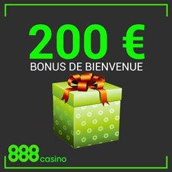bonus bienvenue 888 casino